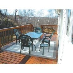 Sunsetter Mat (9ft X 12ft) by Sunsetter. $175.00. Sunsetter Mat (9ft X 12ft). 9X12MATT. Awnings. This great looking, rugged floor mat adds style and comfort while it protects your deck or patio surface - and bare feet! It beautifies your deck or patio, keeps furniture legs from marring the deck surface, and makes your deck a comfortable place to walk. Textured, to make the deck surface less slippery. Protects against splinters and rough spots. Prevents furniture sc...