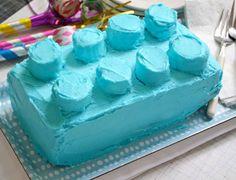 brady's Lego cake take 2?