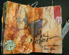 Scraptella: Art journal / Mixed media