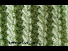 Sorry, This Video does not exist Crochet Stitches Patterns, Knitting Stitches, Knitting Needles, Stitch Patterns, Knitting Patterns, Diy Crafts Knitting, Easy Knitting, Knitting Videos, Crochet Videos
