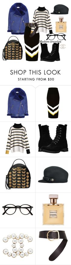 """Winter 2017/18"" by lailamur on Polyvore featuring мода, Acne Studios, River Island, Frye, Gucci, Chanel и Dorothee Schumacher"
