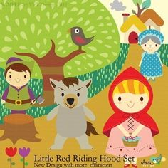 Little Red Riding Hood  #OobiBaby