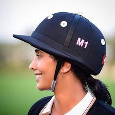 Maitha bint Mohammed bin Rashid Al Maktoum, polo. Foto: @Salah7ahli