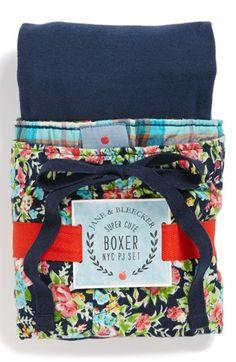 Jane & Bleecker New York Short Pajamas | Nordstrom