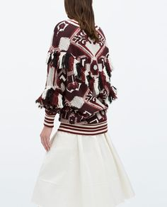 Image 2 of FRINGED SWEATER from Zara