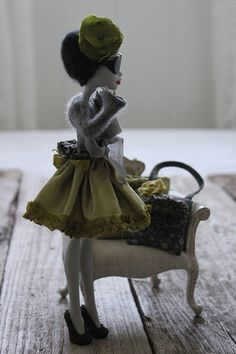 Monster High Doll Couture by Abi Monroe of Taylor Couture, via Flickr