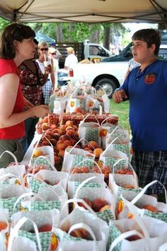 Peach Festival  Candor, NC - located in the Sandhills area of North Carolina - best peaches in the world!