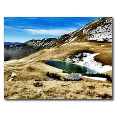 Shop Mountain Landscape Postcard created by AlexCiopata.