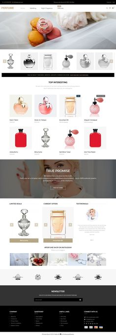 Buy Perfume - Opencart Multi-Purpose Responsive Theme by multipurposethemes on ThemeForest. OVERVIEW Perfume OpenCart theme with simple and cool features. Designed for OpenCart website for Responsive Multipur. Perfume Store, Perfume Oils, Website Design Inspiration, Perfume Hermes, Perfume Genius, Modern Store, Ecommerce Template, Responsive Layout, Fragrance