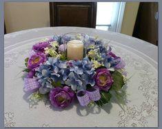 Cemetery Flowers Wreaths & Home Decor by SilkFloralsandFrills