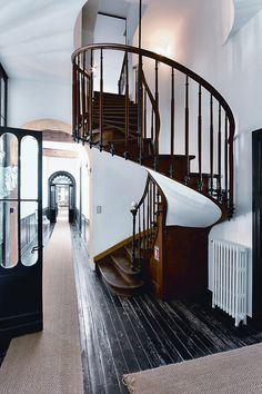 It is my dream to have a spiral staircase. Hopefully one day I will...