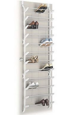 Over the Door Shoe Rack - 36 Pairs