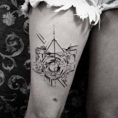 Resultado de imagem para tatuagens de camera fotografica tumblr