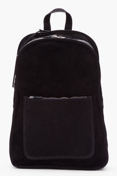 9ec4783e6f35 Marc By Marc Jacobs - Black Suede Out Of Bounds Backpack for Men - Lyst