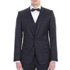 Dolce&Gabbana. Blue cool wool suit. Made In Italy.