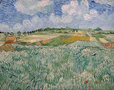 lonequixote:  The Plain at Auvers by Vincent van Gogh (via @lonequixote)