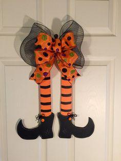 GUIRNALDA de HALLOWEEN Halloween puerta suspensión por Toleshack