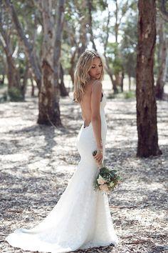 Katie May bridal backless wedding dress