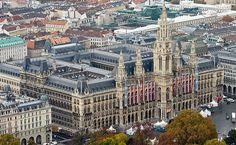 City Hall Vienna, Open day for public visitors / VIENNA, AUSTRIA Tag der offenen Tür im Wiener Rathaus.