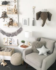 Neutral Scandinavian Nursery with a Touch of Boho
