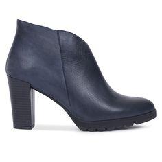 Botín de mujer AZUL Piel – made in Spain – Zapatos miMaO Online – miMaO  ShopOnline ac7542055344