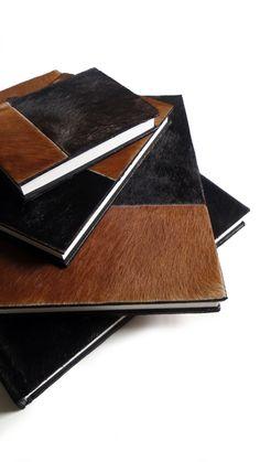 Cowhide sketchbook large journal by luis caicedo