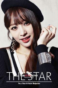 EXID - Hani 하니 (Ahn HeeYeon 안희연) for The Star magazine 2015 : [UHD] 이엑스아이디(EXID) 하니, '까도 까도' 넘치는 '매력 발산'… '양파 같은 여자' - TOPSTARNEWS.NET