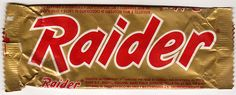 Raider 1988 (before it went Twix) #food #snack