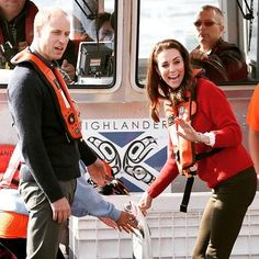 Prince William, Duke of Cambridge and Catherine, Duchess of Cambridge was as tey visit the Haida Heritage Centre during the Royal Tour of Canada on September 30, 2016 in Haida Gwaii, Canada.