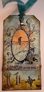 12 tags of 2012 Tim Holtz challenge entry by Monique