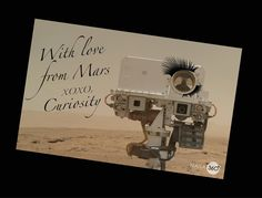 Twitter / NASA360: @Debbie Knight Aceves Happy Valentine's from Mars!