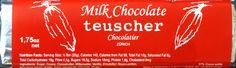 Teuscher Milchschokolade
