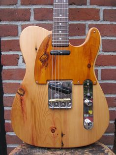 Rick Kelly T-style Bowery Pine kellyguitars.com