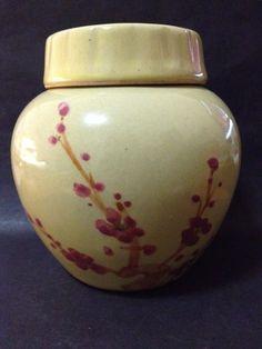 Estate Find - Vintage? Lidded Jar - Floral Decoration Jar Lids, Vintage Ceramic, My Ebay, Ceramics, Decoration, Floral, Home Decor, Ceramica, Decor