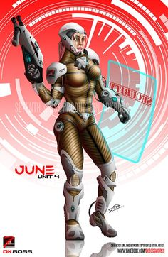 'June' character/artwork created by me