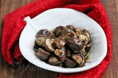 Cancer-Fighting Recipe: Roasted Mushrooms and Thyme {Superfood Research at City of Hope}