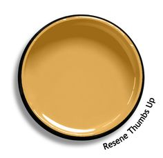 Resene Thumbs Up is a rich mustard gold, bright but not bilious in its hue. Duck Egg Blue, Hue, Paint Colors, Diy Home Decor, Colours, Cool Stuff, Mustard, Branding, Bright