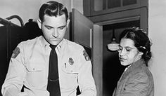 On December 1, 1955, Rosa Parks, age forty-three, was arrested for disorderly conduct in Montgomery, Alabama, for refusing to give up her bus seat to a white passenger.  Her arrest and fourteen dollar fine for violating a city ordinance led African American bus riders and others to boycott the Montgomery city buses. It also helped to establish the Montgomery Improvement Association led by a then-unknown young minister from Dexter Avenue Baptist Church, Martin Luther King, Jr. The boycott…