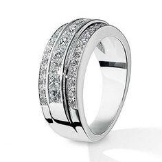 Thick Diamond Wedding Bands for Women   Diamond Wedding Bands ...