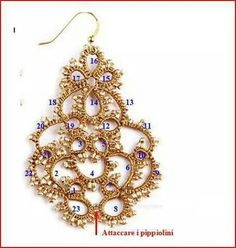 All about Tatting Tatting Earrings, Tatting Jewelry, Lace Jewelry, Tatting Lace, Crochet Earrings, Shuttle Tatting Patterns, Needle Tatting Patterns, Tatting Tutorial, Lace Making