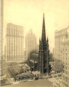 Trinity Church NYC,1929