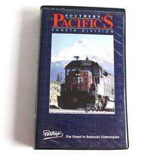 Southern Pacifics Shasta Division VHS Trains Railroads Pentrex California