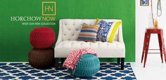 Dinnerware, Bedroom Furniture, Chandeliers & Sectional Sofas | Horchow