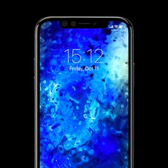 Whole new and visually stunning wallpapers for screens. These extraordinary fractal patterns are created by abstract painter and designer Radim Kacer. Wallpaper Art, Ocean, Technology, Abstract, Luxury, Phone, Blue, Collection, Design