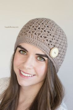 CROCHET PATTERN - Spiced Nutmeg Hat