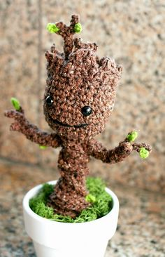 Crochet I AM GROOT by Twinkie Chan