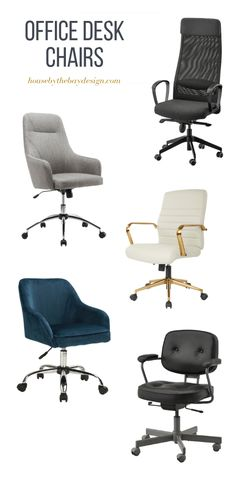 Setting up a home office can be a challenge, but finding comfortable, attractive and affordable desk chairs can be next to impossible. Office Chairs Canada, Home Office Chairs, Velvet Office Chair, Black Office Chair, Black Dining Room Chairs, Desk Chairs, Bar Chairs, Ikea Chairs, Interior Design Canada