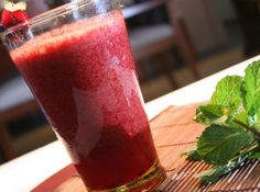 Suco de Cenoura com Beterraba