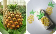 Tampon encreur Ananas (gomme) Tampons, Pineapple, Stamp, Fruit, Diy, Scrapbooking, Couture, Embroidery, Inspiration