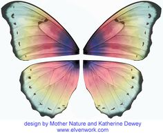 Fairy Wing Designs by Katherine Dewey